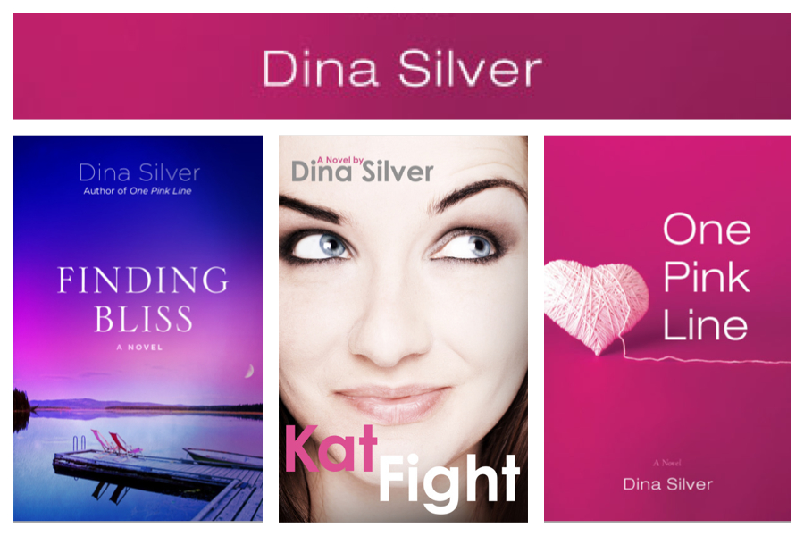 Dina Silver's romance novels--chick lit ebooks.