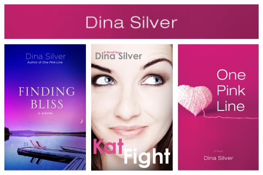 Dina Silver's romance novels--chick lit ebooks.