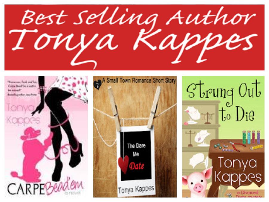 Tonya Kappes Books--chick lit