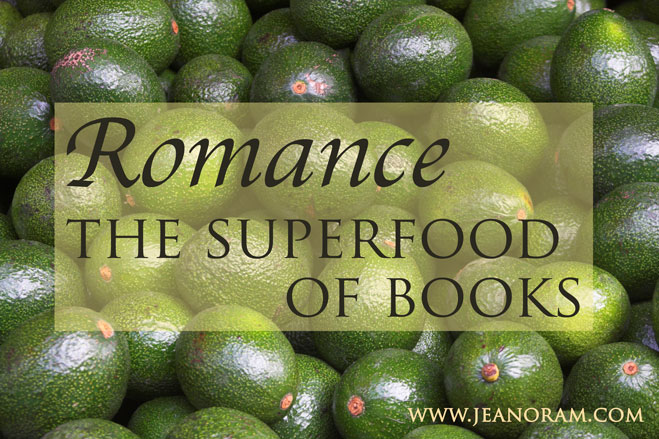 Romance is the superfood of books.