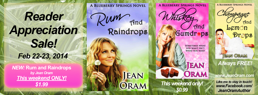 Reader Appreciation Sale Jean Oram Rum and Raindrops Whiskey and Gumdrops