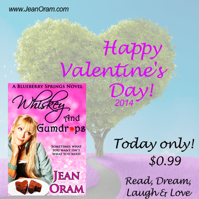 Whiskey and Gumdrops is on sale for $0.99! Happy Valentine's Day.