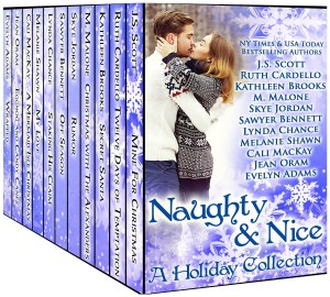 Naughty and Nice: A Holiday Romance novel box set by 11 authors for only 99 cents