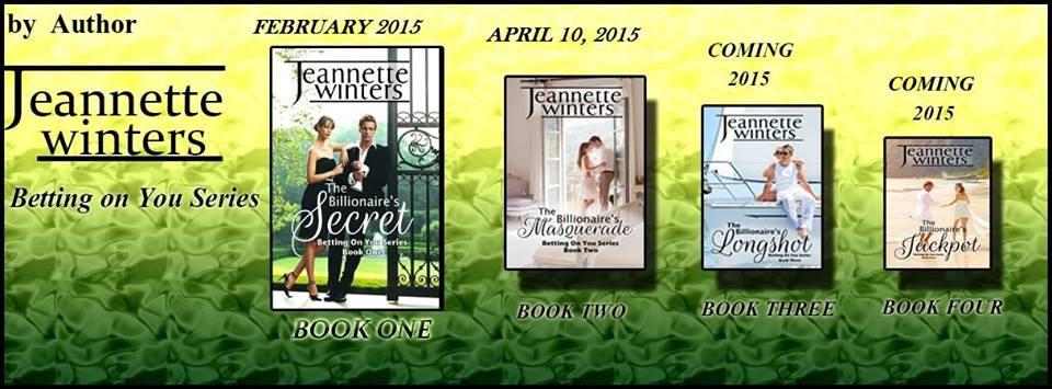 Romance author Jeannette Winters party