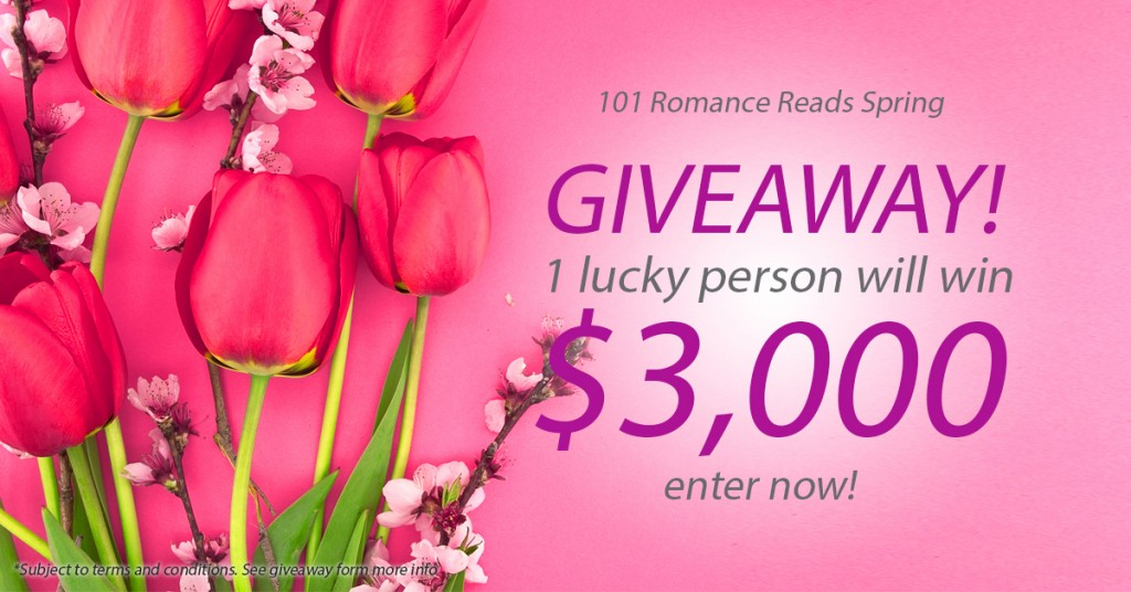 Giveaway for romance readers