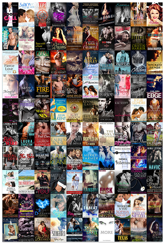 The 101 romance books sponsoring this massive giveaway for romance readers