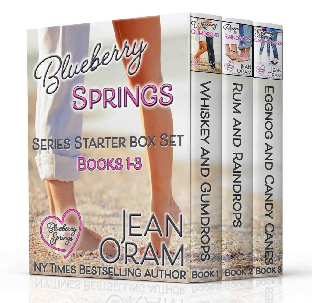 Three novels from Blueberry Springs bestselling small town romance series by Jean Oram