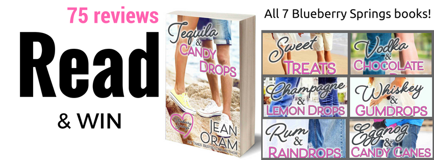 Jean Oram romance book giveaway