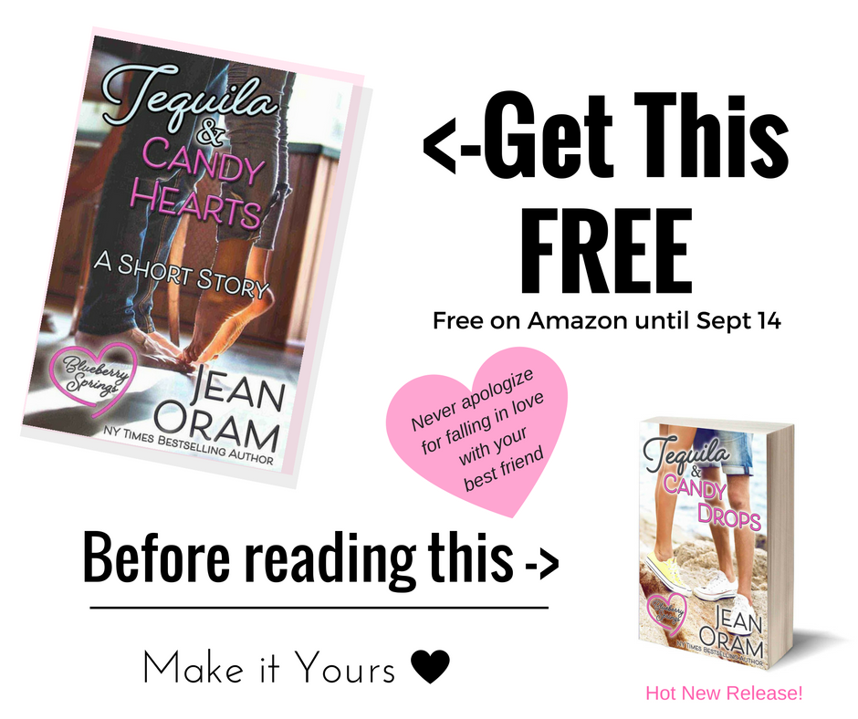 Free short story romance by Jean Oram Tequila and CAndy Hearts free download