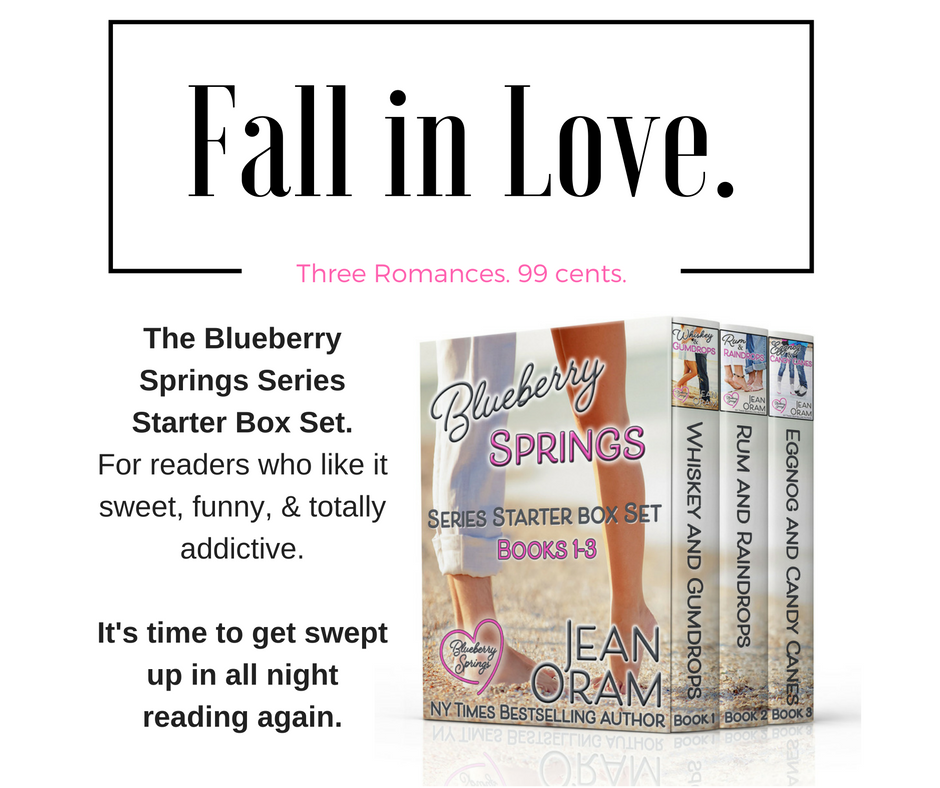 fall in love with three romances for 99 cents from Jean Oram