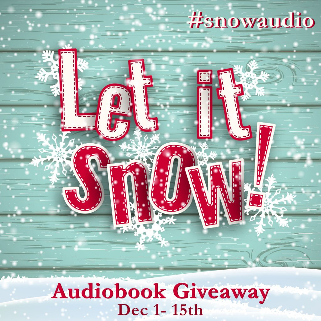 win Champagne and Lemon Drops with let it snow audio giveaway