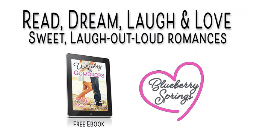 Whiskey and Gumdrops romance Blueberry Springs by Jean Oram.