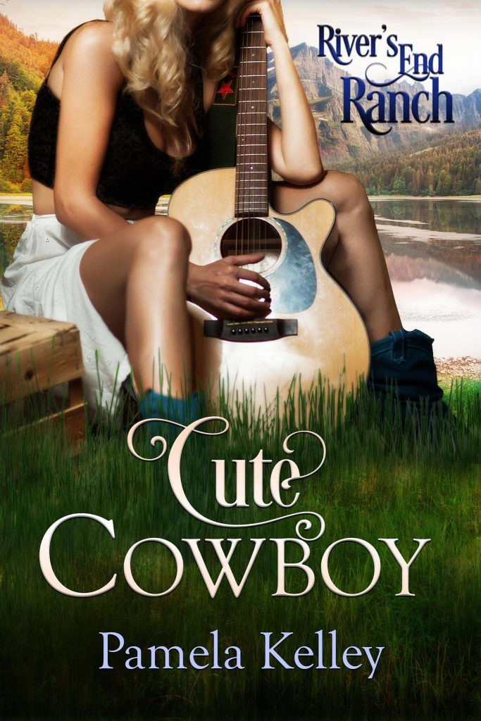 Cute Cowboy River's end Ranch sweet romance by Pamela Kelley