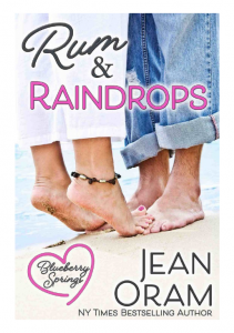 Rum and Raindrops romance Blueberry Springs by Jean Oram