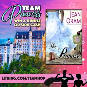 Jean Oram, Team Princess, The Promise, Veils and Vows, #TeamPrincess