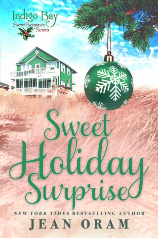 Sweet Holiday Surprise by Jean Oram, a sweet small town romnace, beach read indigo Bay Christmas short story romance