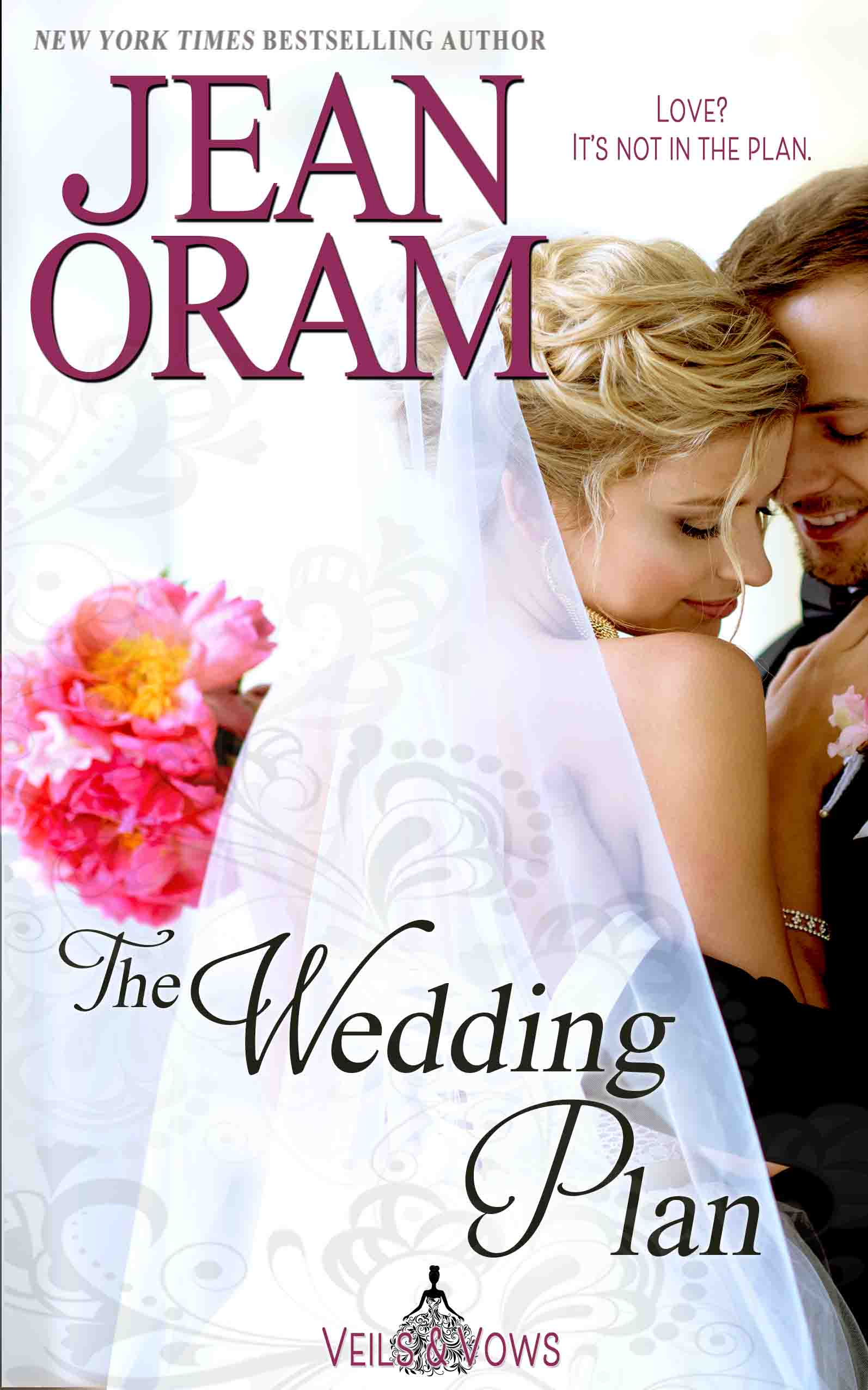 A fake marriage of convenience romance. Sweet MOC small town romance. Book 3 in the Veils and Vows series by Jean Oram.