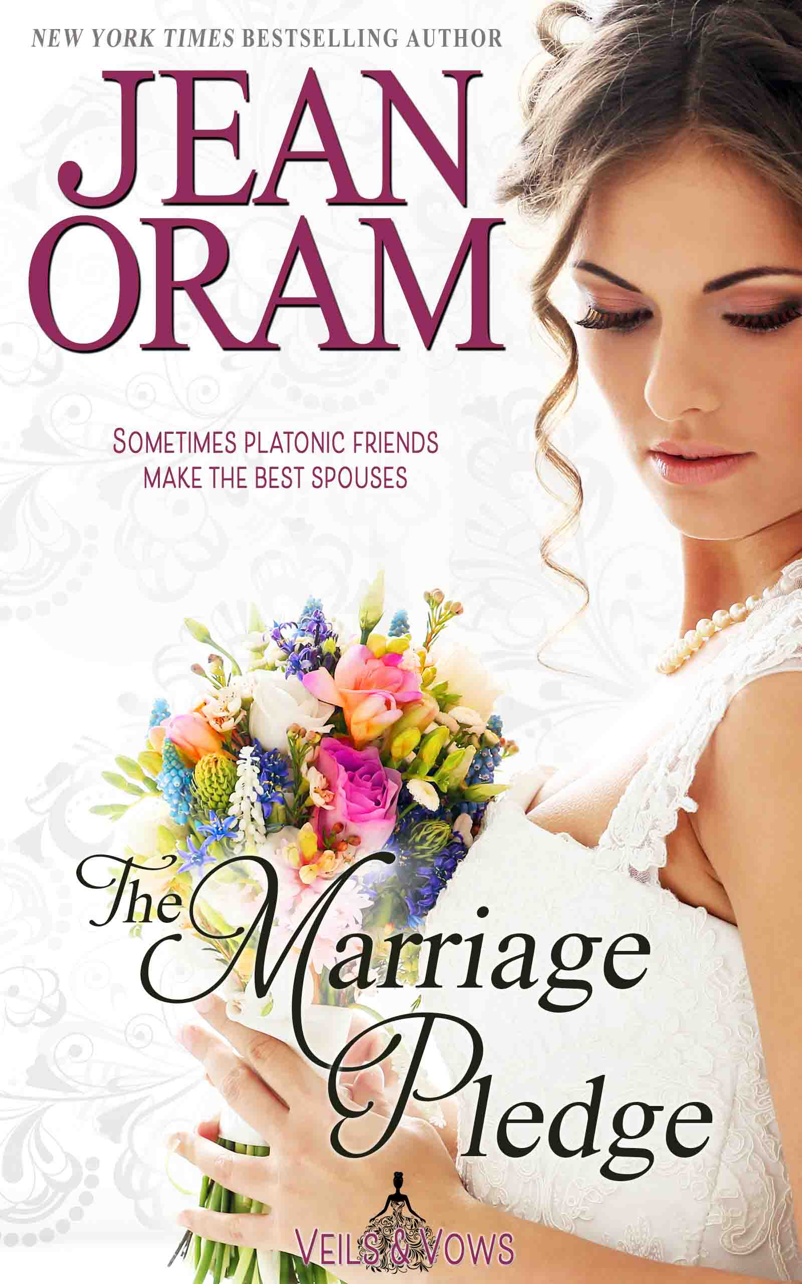 A fake marriage of convenience romance between best friends. Sweet MOC small town romance. Book 1 in the Veils and Vows series by Jean Oram. Book 5 in the Veils and Vows series by Jean Oram.