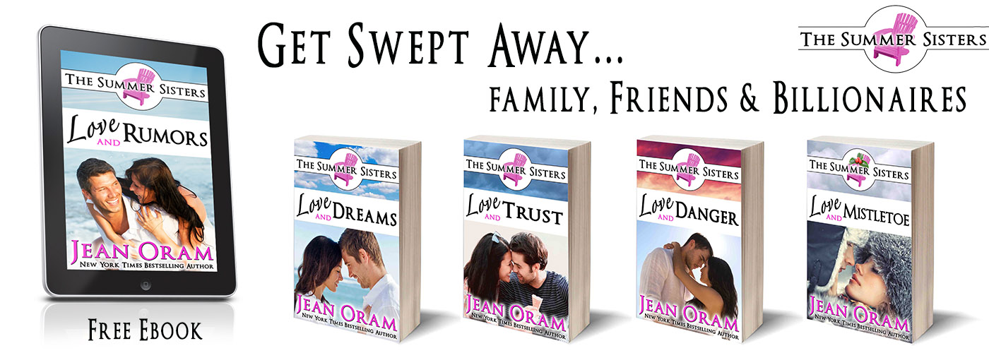 The Summer Sisters romance series by Jean Oram set in Muskoka Ontario