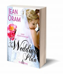 The Wedding Plan signed paperback giveway Jean Oram Goodreads Veils and Vows romance books