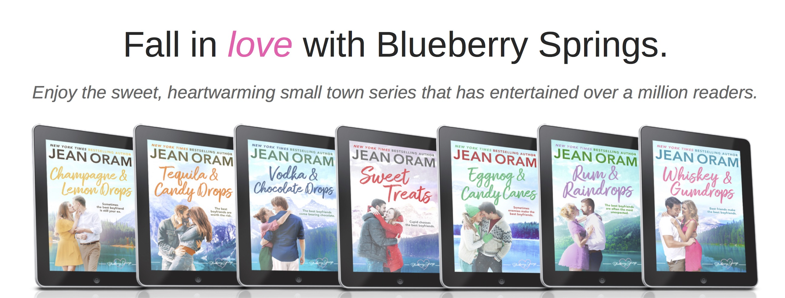 Blueberry Springs small town sweet romance series by Jean Oram