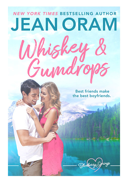 Whiskey and Gumdrops by Jean Oram, irresistible sweet small town romance set in Blueberry Springs.