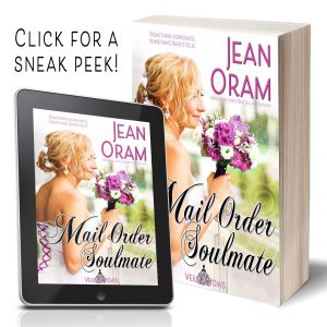 Mail Order Soulmate by Jean Oram. Marriage of Convenience sweet romance.