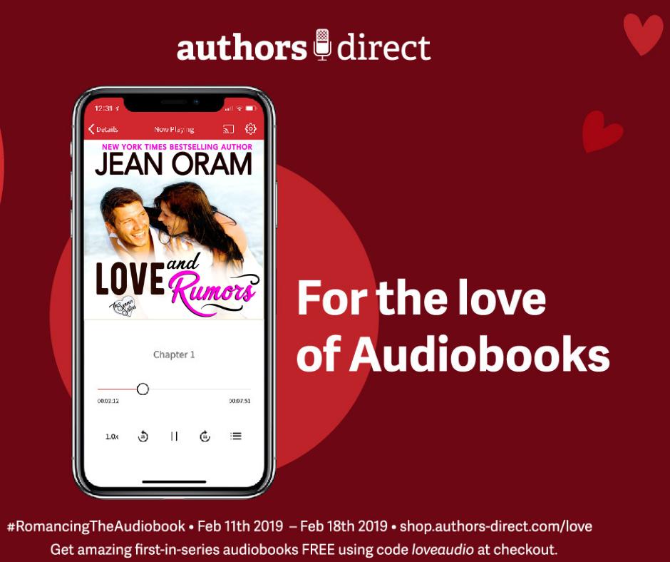 Love Audio: Free Romance Audiobook! – Jean Oram