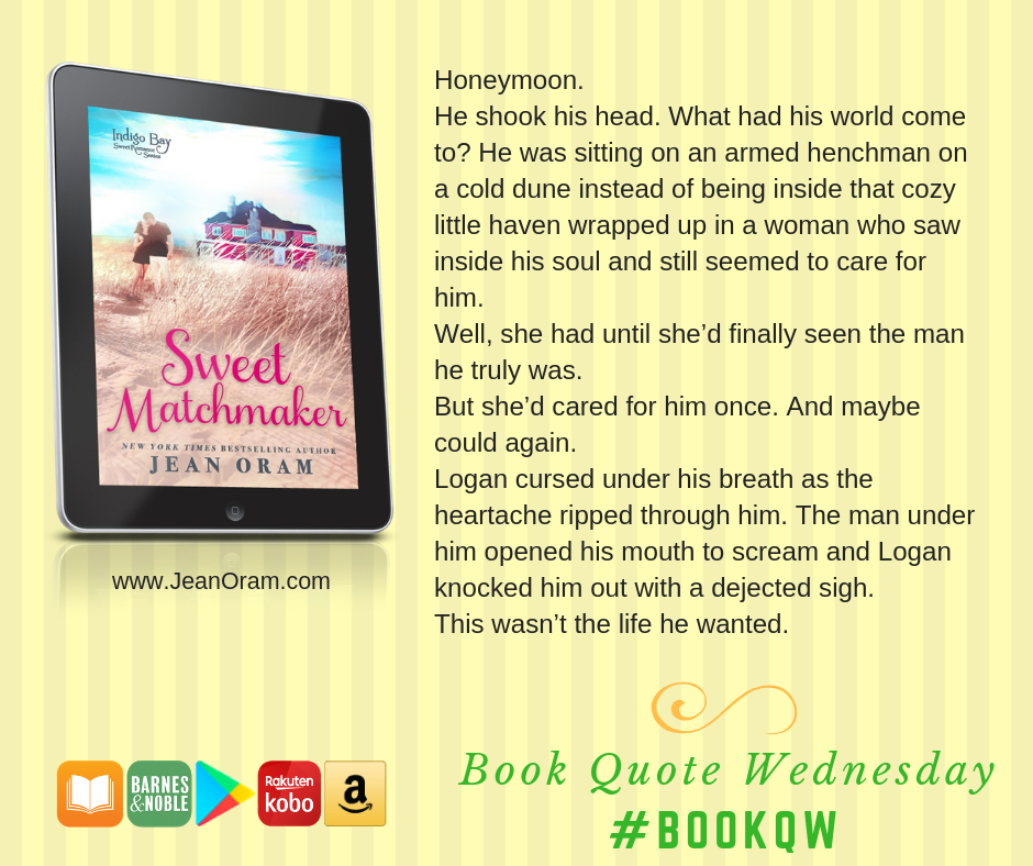 A sneak peek from Logan in Sweet Matchmaker.