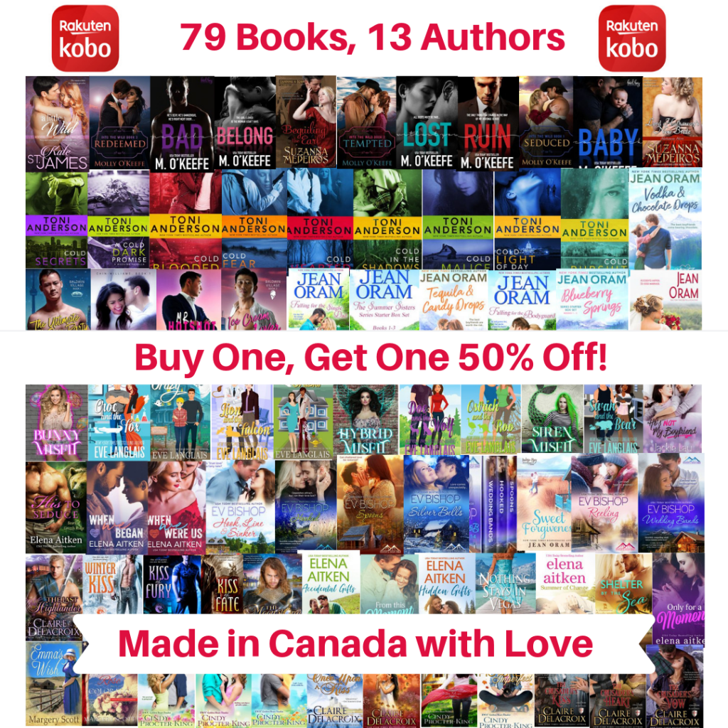Kobo book deals in Romance. Made in Canada with Love.