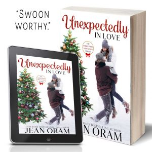 Unexpectedly in Love. A heartwarming novel Hallmark Christmas movie novel.
