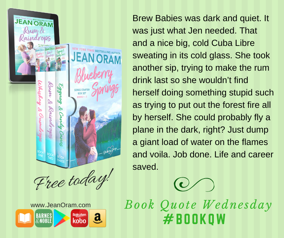 Free box set romance. Get started with the Blueberry Springs series starter box set by Jean Oram. Three romantic comedy romances for free. Enjoy this small town romance set today!